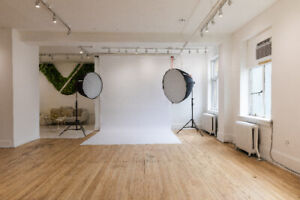 Photography and Media Studio For Rent Downtown
