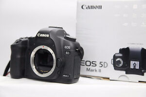 Canon 5D Mark II 5D2 camera body and battery grip