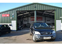 2005 Kia Sorento 2.5CRDi AUTOMATIC 4WD XE DIESEL 1 OWNER FROM NEW