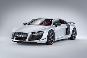 Kyosho Audi R8 GT (Suzuka Gray) 1:18 Scale Diecast Model Car