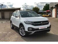 2021 Volkswagen T-CROSS ESTATE 1.0 TSI SE 5dr SUV Petrol Manual