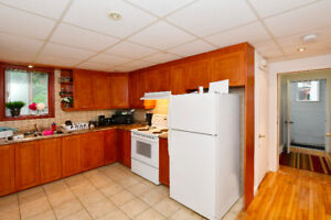 3.5 semi basement/St-Laurent fully renovated with appliances