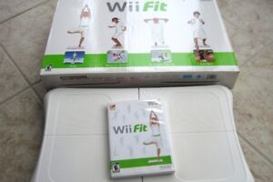 WII FIT ET FITNESS MAT