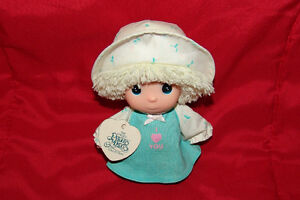 Vintage Precious Moments Doll Hi Babies with tag. 1989.