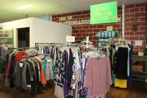 Come In and Check Out the Fundraising Boutique