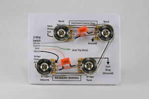 Hand-built Guitar Wiring Harness Kits