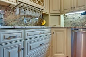BIG Sale with Maple Solid wood Kitchen and Quartz counter top!