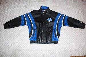 NHL Maple Leaf's Leather Jacket