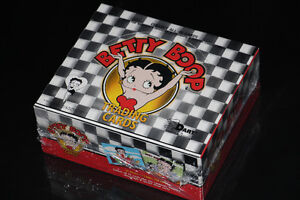 BETTY BOOP-COLLECTION CARTES/CARDS-DISPLAY BOX (NEUF/NEW SEALED)