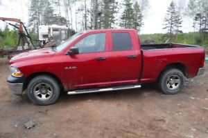 2010 Dodge Ram quad cab 4x4 . Don,t miss out on this deal.