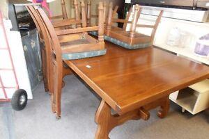 Table / chair set (soild Oak )