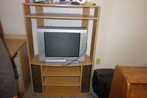 SONY TV and Cabinet, Moving and can't take with me!