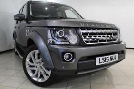 2015 15 LAND ROVER DISCOVERY 4 3.0 SDV6 HSE 5DR AUTOMATIC 255 BHP DIESEL