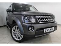 2015 15 LAND ROVER DISCOVERY 3.0 SDV6 HSE 5DR AUTOMATIC 255 BHP DIESEL