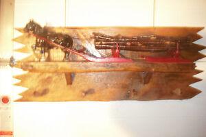 Vintage Horse & Log Sleigh Coat Rack Hall Stand St. John's Newfoundland image 2
