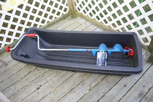 Get ready for Icefishing Pelican Sled, Mora Auger Extra Blades