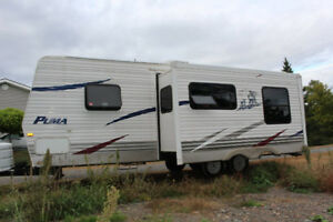 2008 26' Puma Travel Trailer