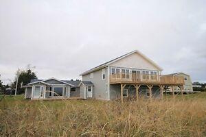 Large Waterfront Beach House & Cottage $$$ (Souris,PEI)