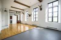 Exceptional loft for rent St-Gabriel Lock Griffintown Montreal