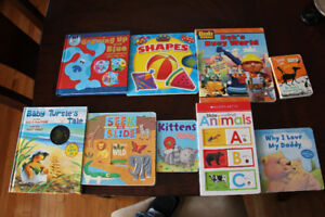 Lot of 9 Toddler Books in Great shape