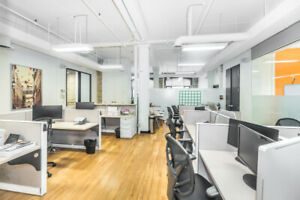 Affordable fully-furnished office space for rent by owner