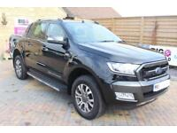 2017 FORD RANGER WILDTRAK TDCI 200 4X4 DOUBLE CAB WITH ROLL'N'LOCK TOP PICK UP D