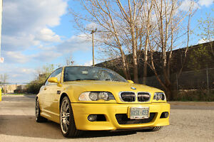Phoenix Yellow BMW M3 3.2 Coupe