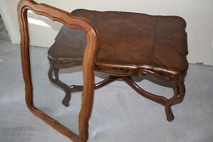 Vintage Solid Walnut Serving Table Kingston Kingston Area image 5
