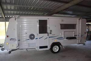 Windsor Rapid caravan-sleeps 4 + 2 kids--Done less than 5000Km Helensvale Gold Coast North Preview