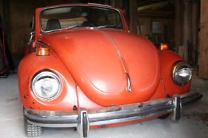 Volkswagen Super Beetle 1971 Convertible