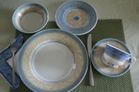 CHURCHILL CHINA OF ENGLAND... 12 settings...60 pieces