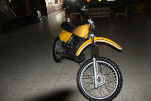 1978 Suzuki RM250C Dirtbike Moose Jaw Regina Area image 2