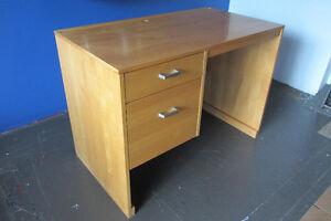 NADEAU Maple Solid Wood Desk