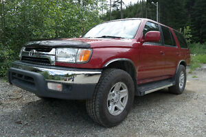 2001 Toyota 4Runner SR5 - Aftermarket Towing and Sound System