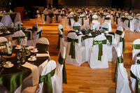200 White Chaircovers