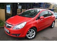 Vauxhall Corsa 1.4 SXI AC Red 3 Door New Shape Long MOT Finance Available