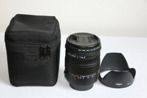 Objectif SIGMA 17-70 mm f/2.8-4  pour Canon