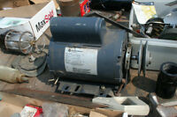 BRAND NEW 1 HP AND 1/2 HP ALSO 2 USED 1/2 HP MOTORS