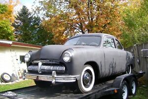 1949 METEOR COUPE FLATHEAD V8  -  NEW PRICE