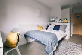Luxurious STUDENT en-suite flat to rent on Oxford Road, Manchester. Private accommodation.