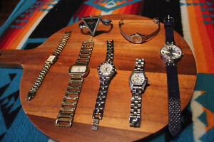 Beautiful womans watch collection blowout! low prices