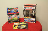 Lot de DVD et Blu-Ray, TMNT, Harry Potter, Taxi 22 et plus...