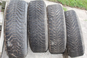 Winter Tires and Rims P195/70R14