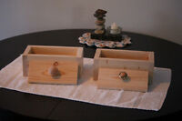 2 1b Wooden Soap Molds For Sale