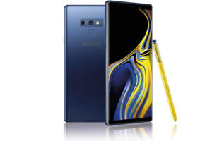 Mint condition galaxy note 9 and 255 gig sd card
