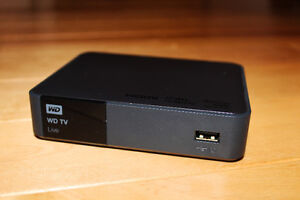 WD TV Live 1080p Media Player CIB - 100$ or Best Offer