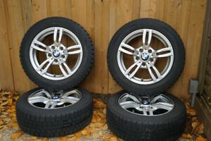 Snow Tires and BMW Replica Rims