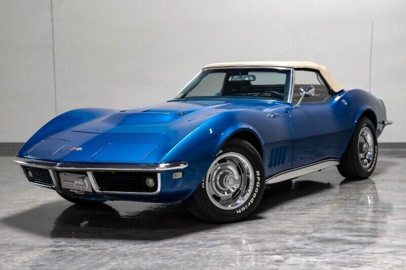 1968 Blue Chevrolet Corvette     C3 Corvette Photo 7