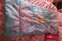 Barbie childs size sleeping bag