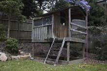 Children's Wooden Cubby House Chatswood Willoughby Area Preview